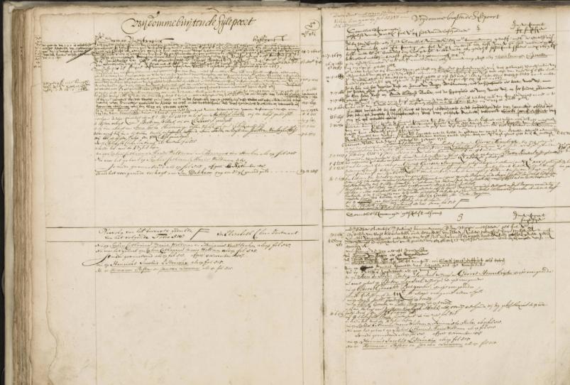 Notariële bronnen, de rechtsgeldige historie van personen